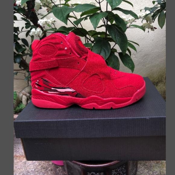 quality design 03541 b2d5b Air Jordan 8 VIII Retro Red